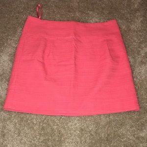 Coral J. Crew skirt